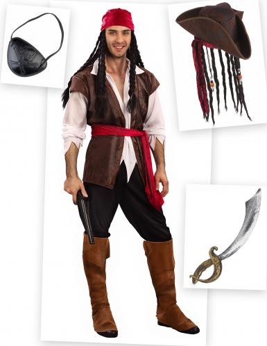 Piraten kostuum pack voor mannen
