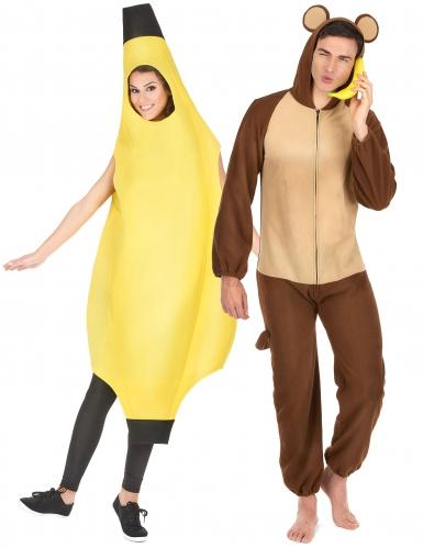 Aap en banaan koppelkostum
