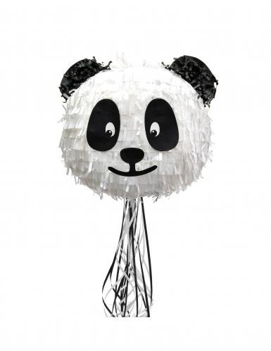 Schattige witte en zwarte panda pinata