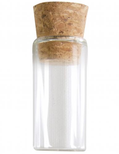 Glazen buisje met kurkdop 5 cm