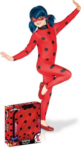 Miraculous Lady Bug™ klassiek kostuum voor meisjes