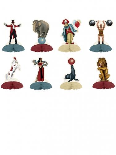 8 mini Vintage Circus