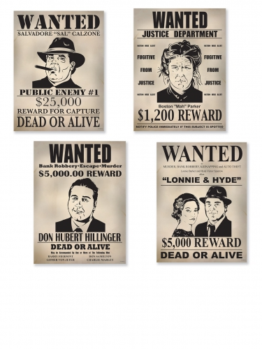 4 posters WANTED