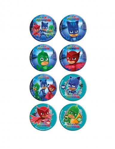 16 mini PJ Masks™ suikerschijven