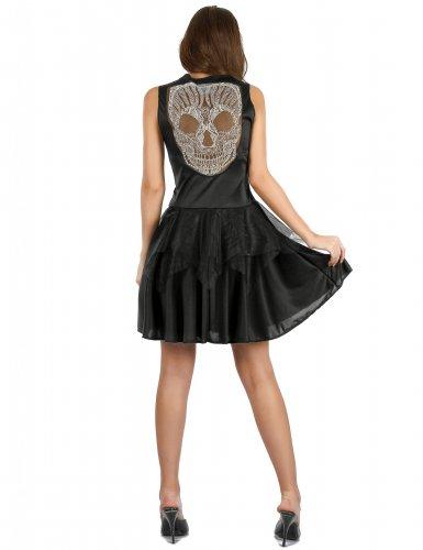 Sexy skeletten kostuum voor dames-1