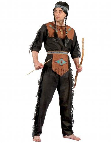 Indiaan kostuum voor heren