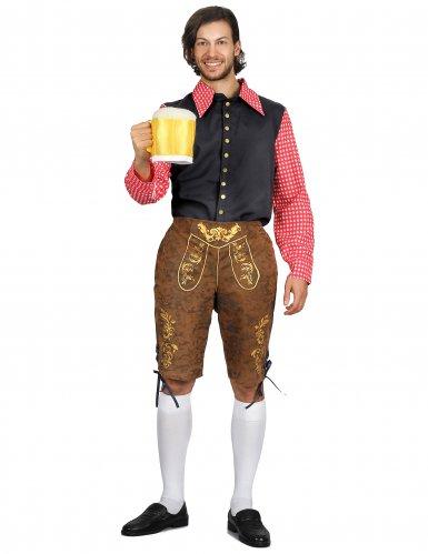 Lederhosen oktoberfest kleding voor heren