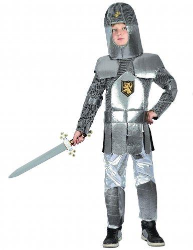 Ridder in harnas en malienkolder outfit voor jongens