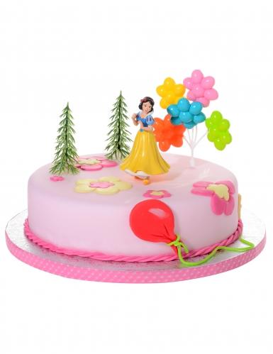 4 taartdecoraties Disney™ Sneeuwwitje
