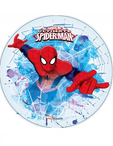 Eetbare Ultimate Spiderman™ ouwel schijf