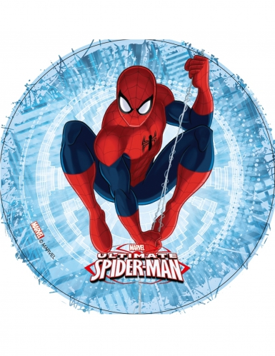 Ultimate Spiderman™ eetbare schijf