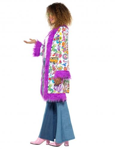 Jaren 60 hippie jas voor dames-1