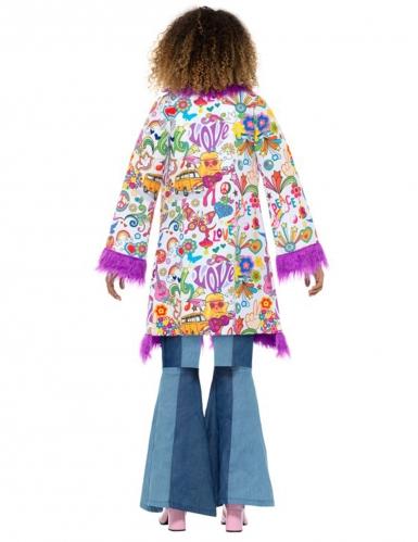 Jaren 60 hippie jas voor dames-2