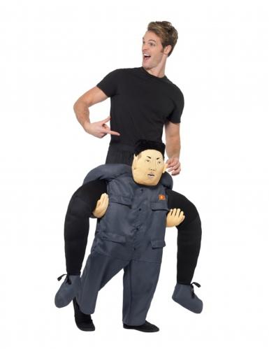 Op de rug van een dictator kostuum voor volwassenen