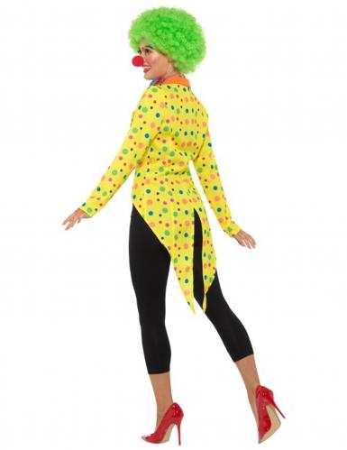 Gele clown slipjas voor dames-1