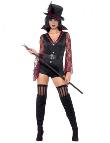 Sexy vampier dompteur kostuum voor vrouwen