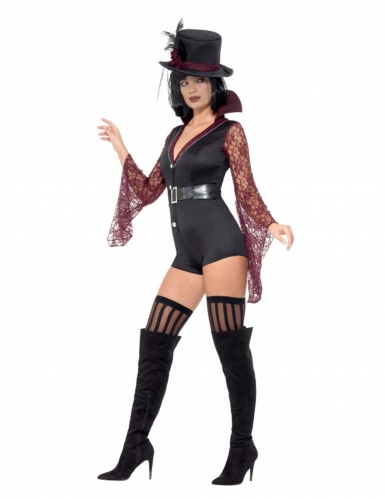 Sexy vampier dompteur kostuum voor vrouwen-2