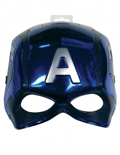 Captain America™ half masker voor kinderen-1