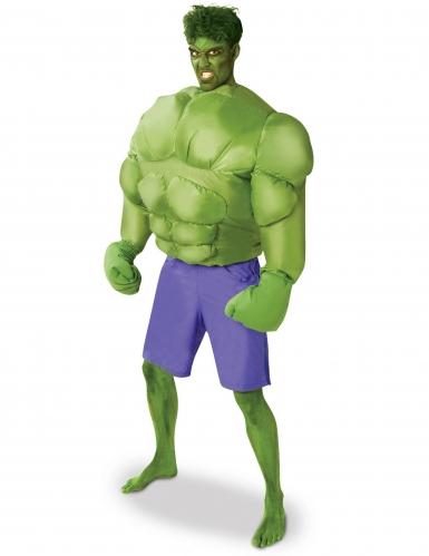 Opblaasbaar Hulk™ kostuum voor volwassenen