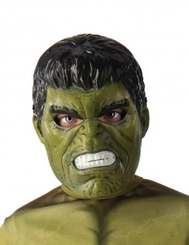 Hulk™ half masker voor kinderen
