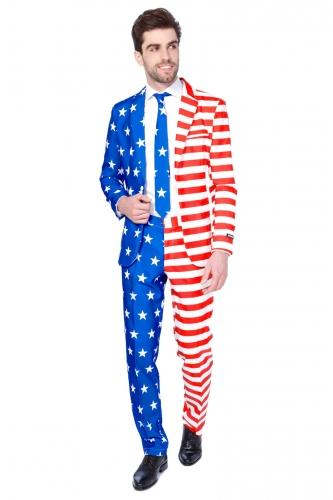 Mr. USA Suitmeister™ kostuum voor heren