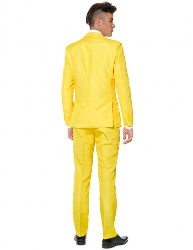 Mr. Solid geel Suitmeister™ kostuum voor mannen-1
