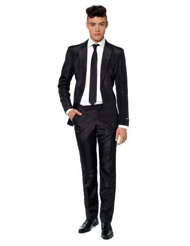 Mr. Solid zwart Suitmeister™ kostuum voor mannen