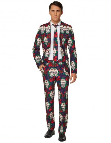 Suitmeister™ Mr. Skull kostuum voor mannen