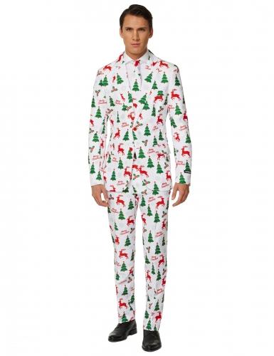 Wit Mr. Merry Xmas Suitmeister™ kostuum voor mannen