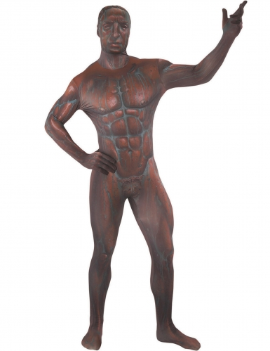 Brons standbeeld Morphsuits™ kostuum voor volwassenen-1