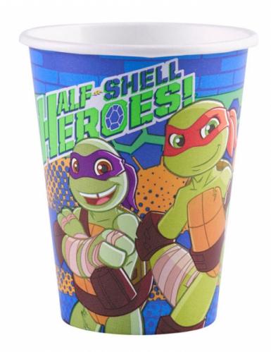 8 kartonnen bekertjes Ninja Turtles™