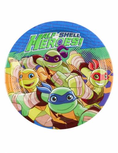 8 kartonnen bordjes Ninja Turtles™