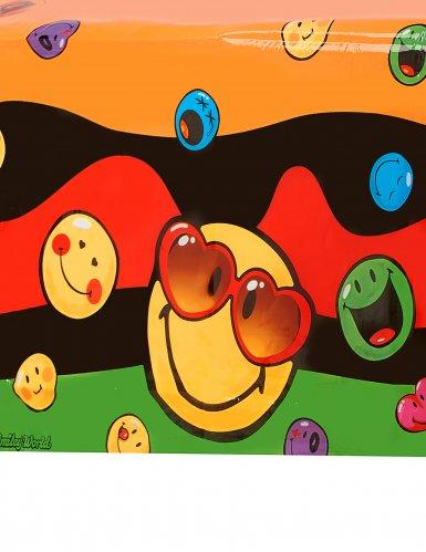 Plastic tafelkleed Smiley World™-1
