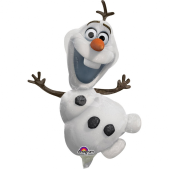 Kleine aluminium Olaf Frozen™ ballon