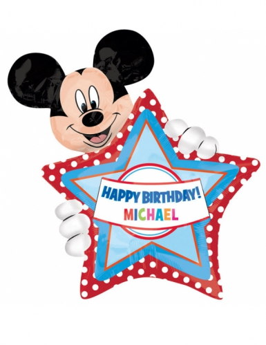 Gepersonaliseerde Mickey Mouse™ ballon