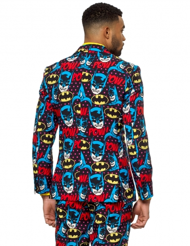 Mr. Batman™ Opposuits™ logo kostuum voor mannen-1