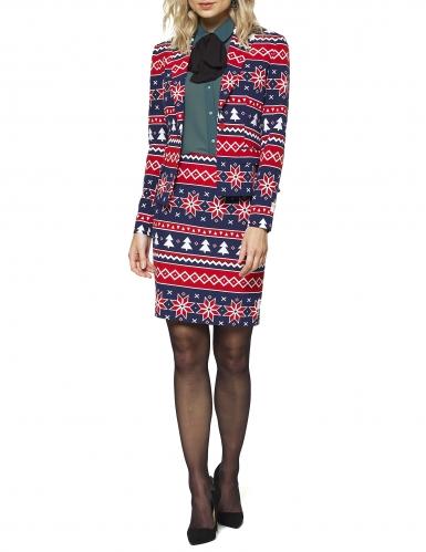 Mrs. Nordic Opposuits™ kerst kostuum voor vrouwen