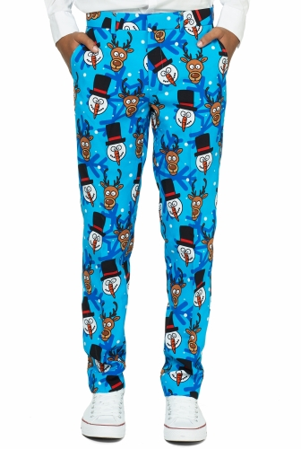 Mr. Winter winner Opposuits™ kostuum voor tieners-2