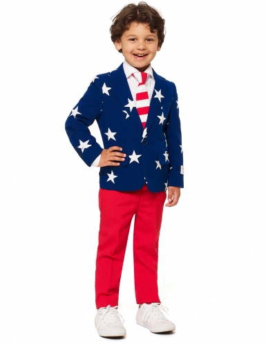 Mr. USA Opposuits™ kostuum voor kinderen