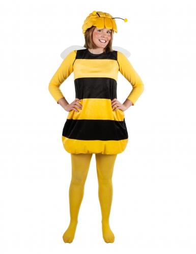 Geel en zwart Maya de Bij™ kostuum voor volwassenen