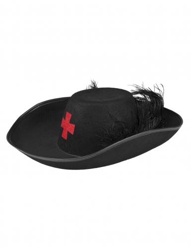 Musketier hoed voor volwassenen-1