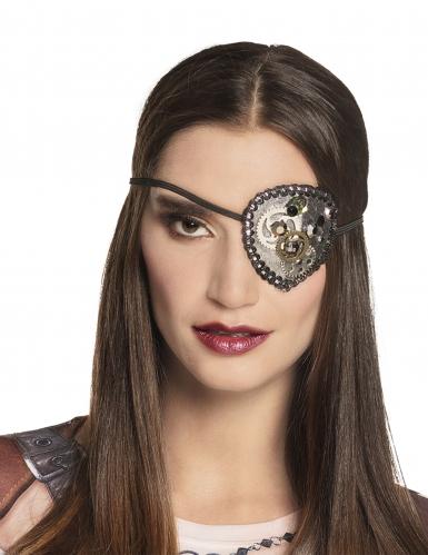 Steampunk ooglapje voor vrouwen