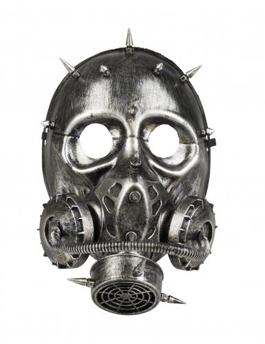 Steampunk gasmasker voor volwassenen-1