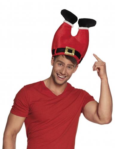 Kerstman broek hoed voor volwassenen-1