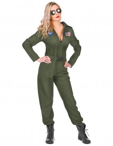 Vliegtuig piloot kostuum voor vrouwen
