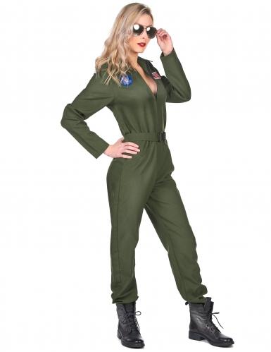 Vliegtuig piloot kostuum voor vrouwen-1