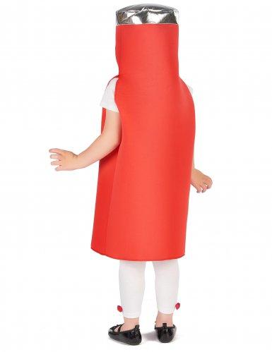 Ketchup kostuum voor kinderen-3