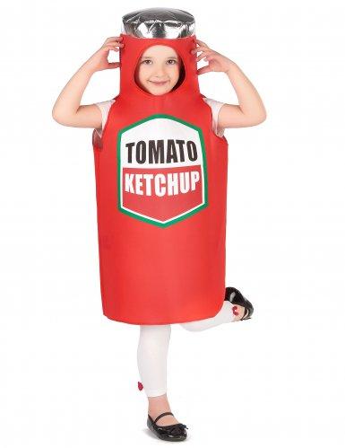 Ketchup kostuum voor kinderen-4