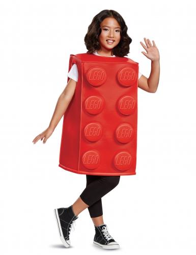 Rood Legoblokje kostuum voor kinderen
