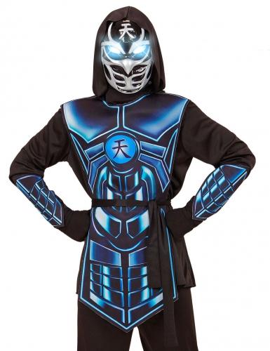 Cyber ninja kostuum met licht en geluid voor kinderen-1